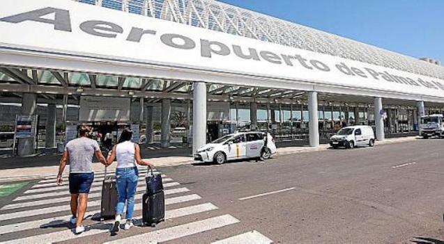 Son Sant Joan Airport, Palma.