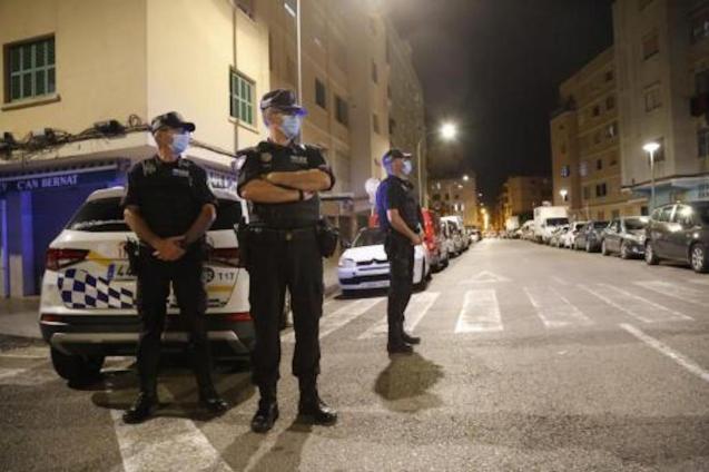 Local Police in Son Gotleu.