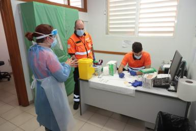 Workloads at health centres in Majorca have increased because of the pandemic.