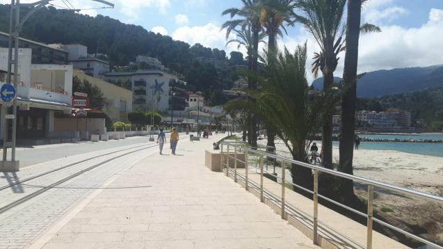 Puerto Soller absence of tourists