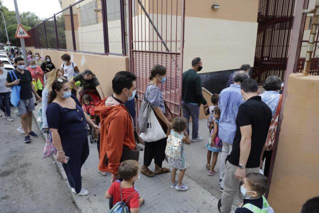 Schools in Mallorca and coronavirus
