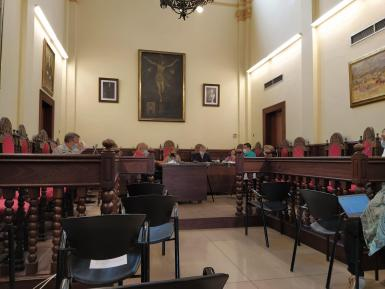 Alcudia's Council meeting on Monday.