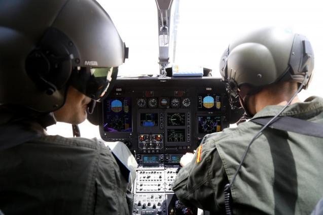 Guardia Civil Mallorca helicopter