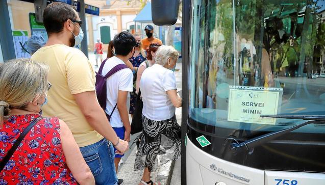 Palma Mallorca bus strike