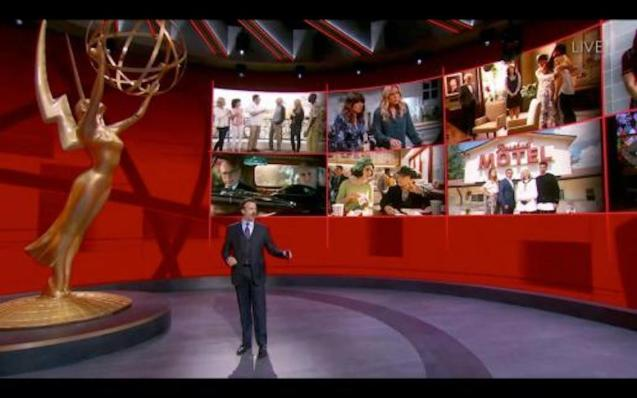 Jimmy Kimmel presents virtual Emmys.