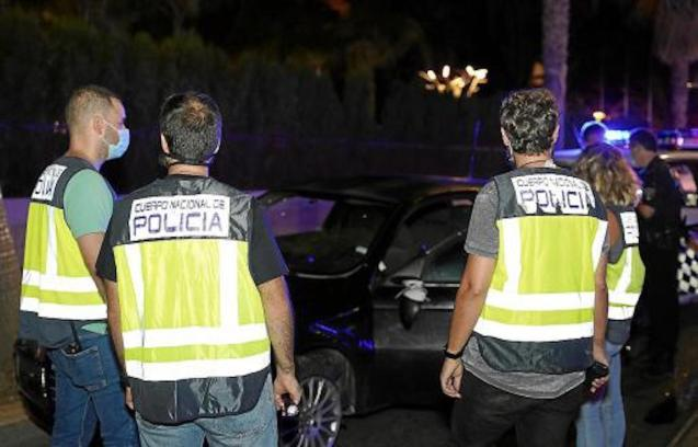 Police arrested two Moroccan men.