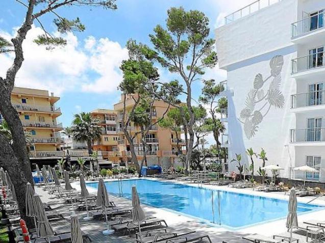 Hotel Riu Concordia, Majorca.