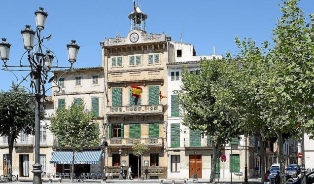 Llucmajor town hall, Mallorca