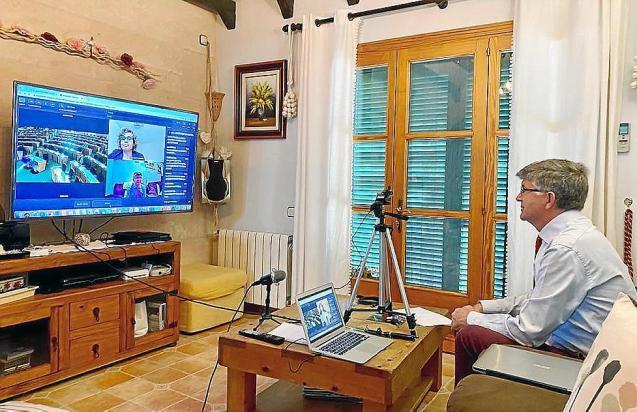 European Parliament videoconference, Mallorca