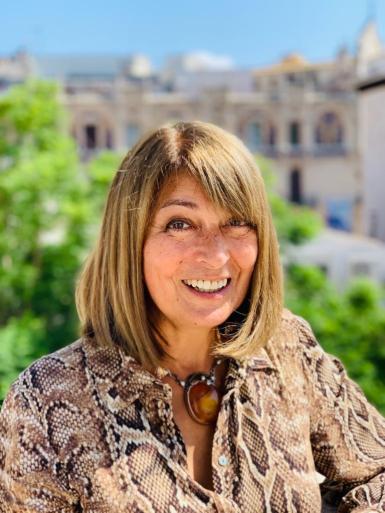Founder of Mallorca Gardeners Deborah Forster.