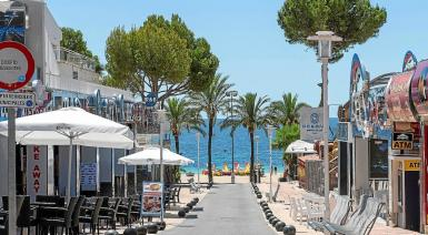 Businesses of all kinds in Calvia's resorts are enduring a very tough time.