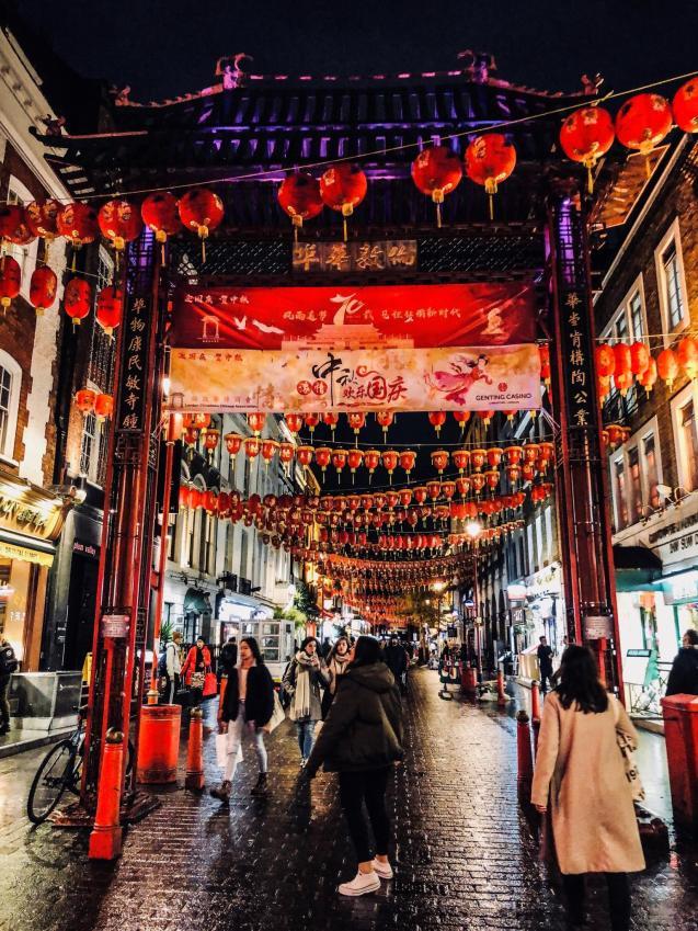 China Town, London.