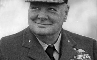 Sir Winston Churchill during the Second World War.