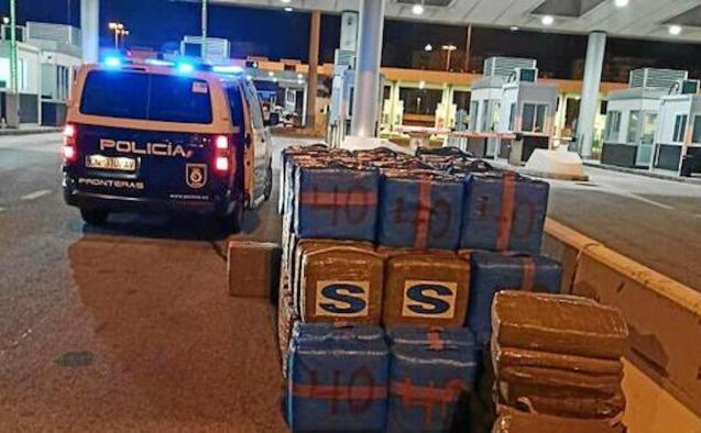 24 tons of hashish confiscated by Police.