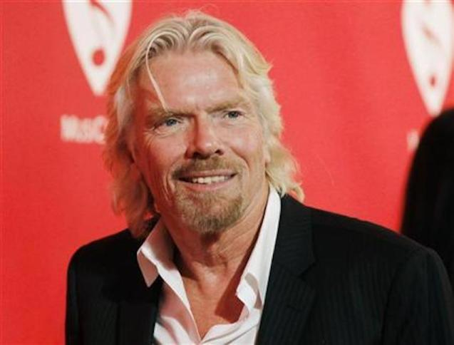 Sir Richard Branson.