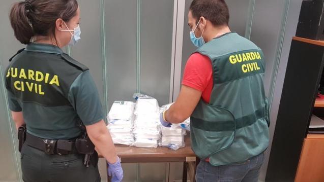Cocaine haul, Alcudia, Mallorca