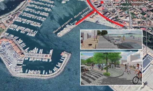 Plan for Puerto Alcudia, Mallorca