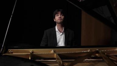 Pianist Magí Garciás.