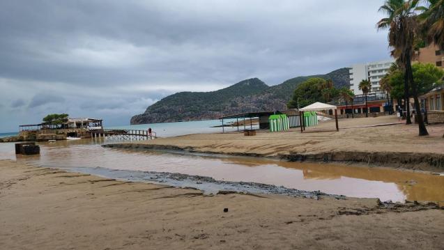 Camp de Mar, Mallorca, after a storm
