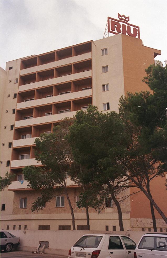 A hotel in El Arenal.