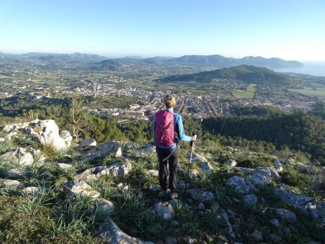 Walking in Majorca.