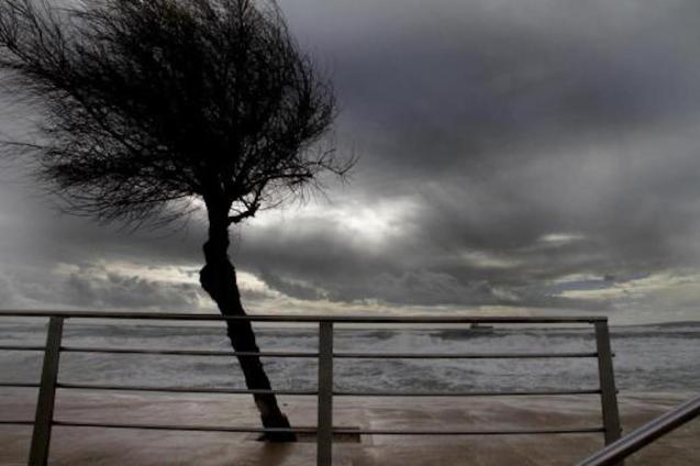 A stormy weekend in Majorca.