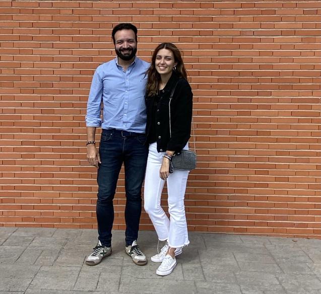 Joan Barceló & daughter Paula.