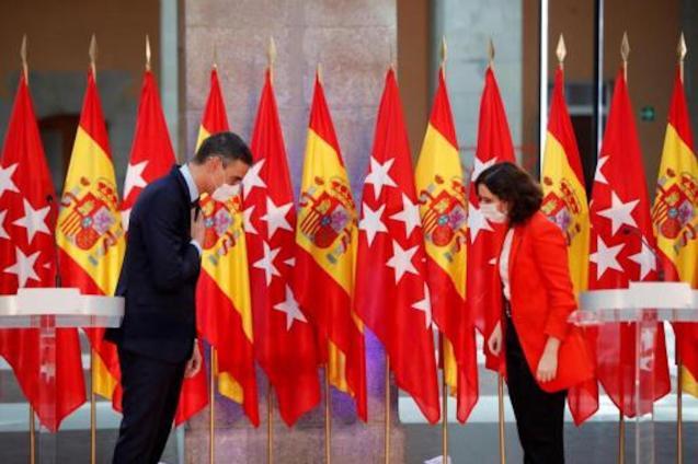 Pedro Sánchez, Spanish Prime Minister & Isabel Díaz Ayuso, President of the Community.