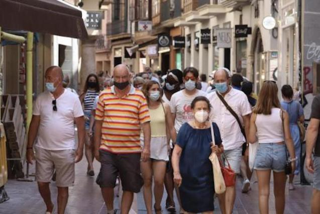 New mask rules in Spain.
