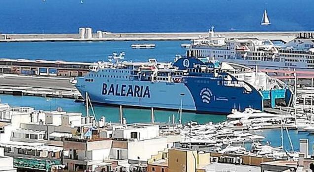 Baleària Ferry in Palma Port.