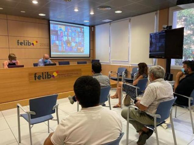 FELIB video conference.
