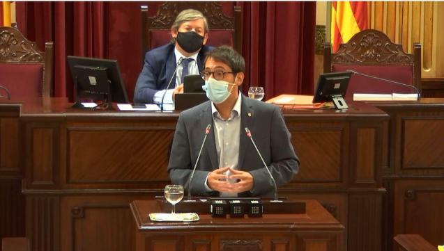 Balearic tourism minister, Iago Negueruela