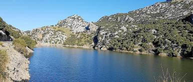 General view of Gorg Blau.