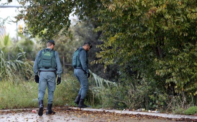 The Guardia Civil are currently on the scene
