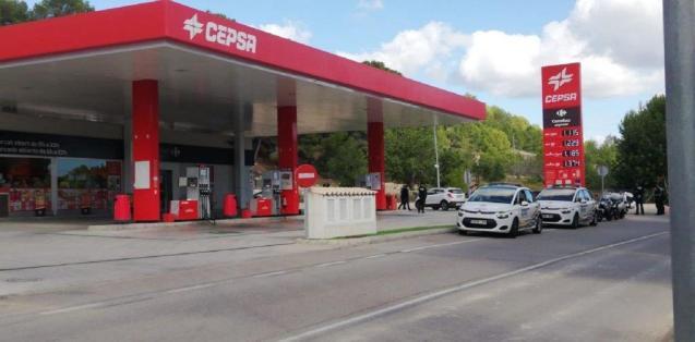 Petrol station, Paguera, Mallorca