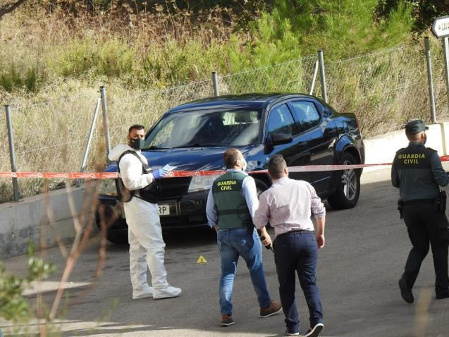 Paguera, Mallorca; shooting of two people