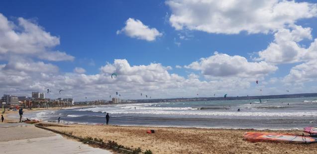 Kitesurfing in Mallorca