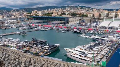 Plain Sailing for the 60th Genoa Boat Show.