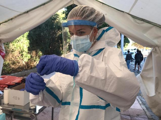 Antigen testing, Balearics