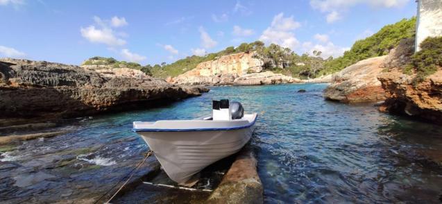 Migrant boat, Mallorca