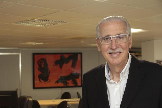 Pedro Comas, former editor of Ultima Hora newspaper, Mallorca