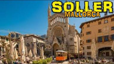 """The Town of Soller is one of the most beautiful in Mallorca, sits in the """"Valley of oranges"""" or """"Valley of gold"""". Paradise for hikers and Nordic Walking fans #soller #trendesoller #sollermallorca"""