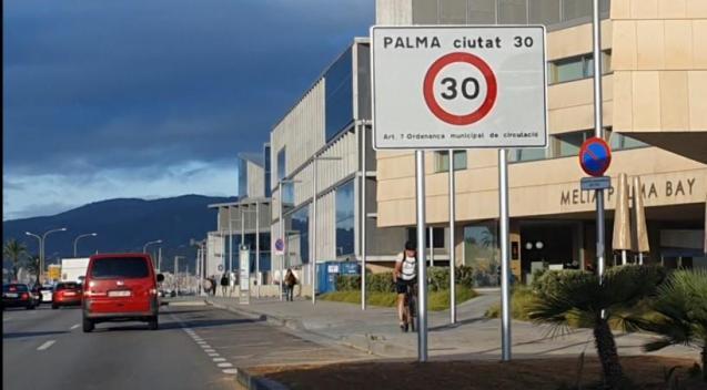 Palma Mallorca speed limit