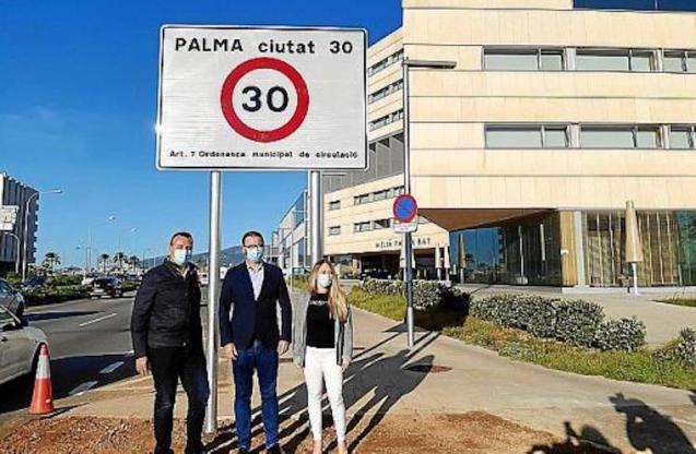 New speed limit enforced in Palma.