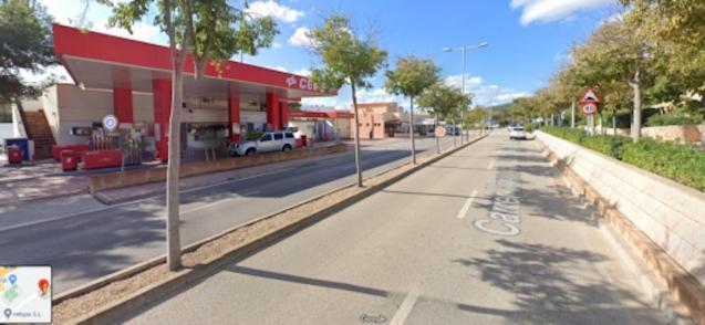 Son Caliu petrol station, Calvia.