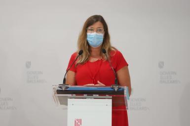 Patricia Gómez, who presented the measures on Thursday.