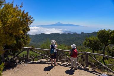 Visitors in La Gomera
