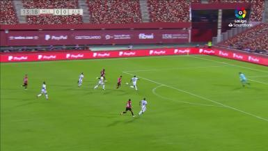 Summary of the match between Real Mallorca and Albacete.