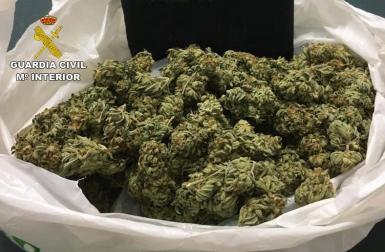 Marijuana was seized.