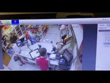 Live footage of the stabbing in Son Caliu.